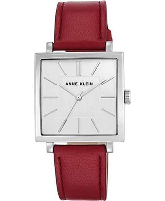 Anne Klein Women's Silver-Tone Watch 34mm
