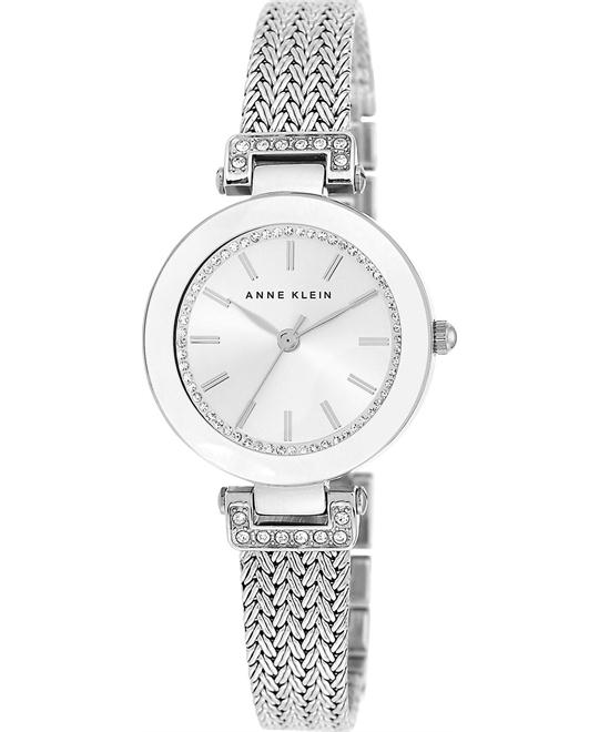 Anne Klein Women's Stainless Steel Mesh Watch 30mm
