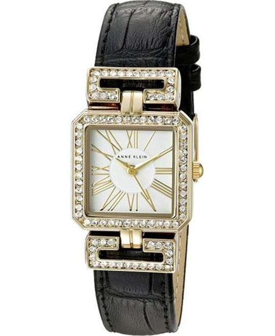 Anne Klein Women's  Swarovski Crystal Watch 24MM