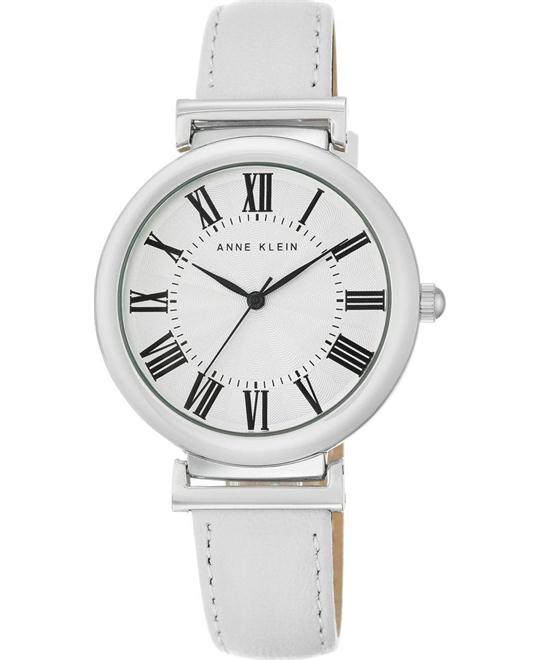 Anne Klein Women's White  Watch 38mm