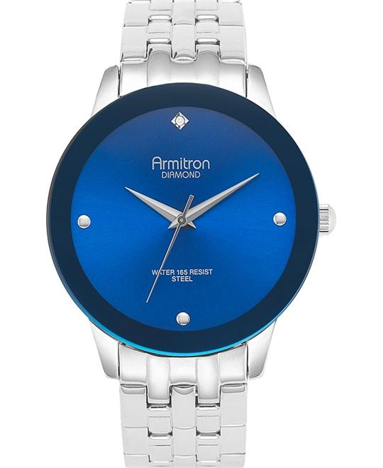 Armitron Men's Blue- Diamond Watch, 42mm