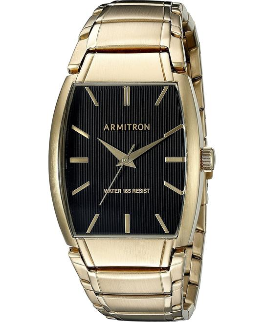 Armitron Men's Gold-Tone Bracelet Watch 33mm