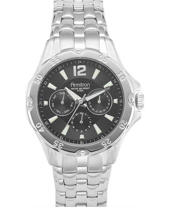 Armitron Men's Silver Tone Watch, 42mm