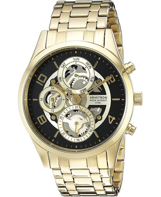 Armitron Multi-Function Skeleton Watch 40mm