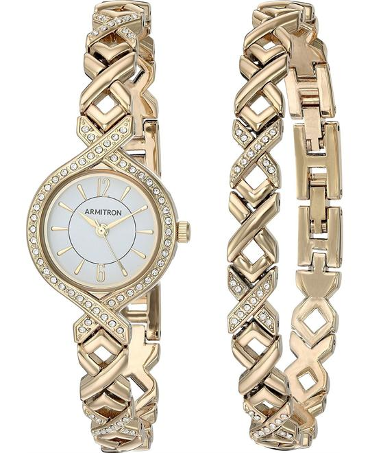 Armitron Quartz Metal and Alloy Dress Watch 24mm