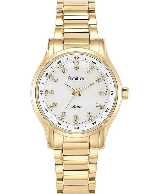 Armitron Women's Gold-Tone Watch, 32mm