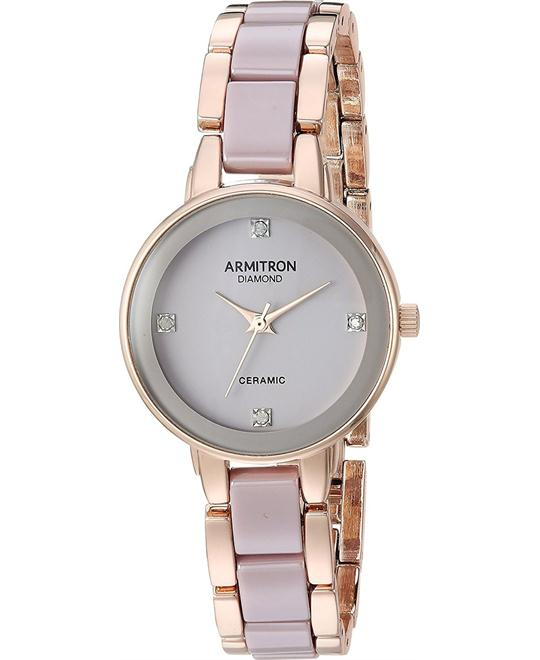 Armitron Women's Rose Gold-Tone Watch 28mm