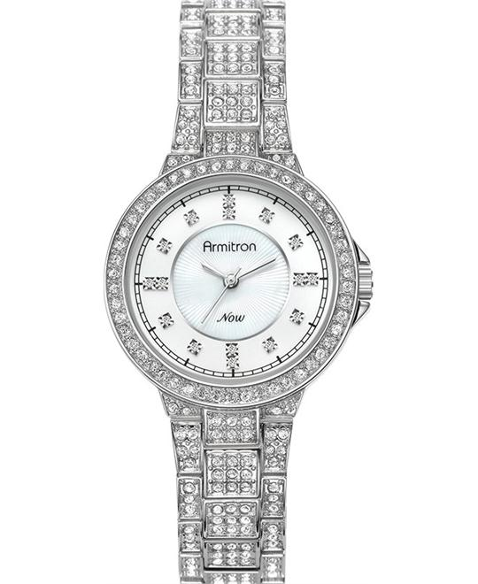 Armitron  Women's Swarovski Silver Watch
