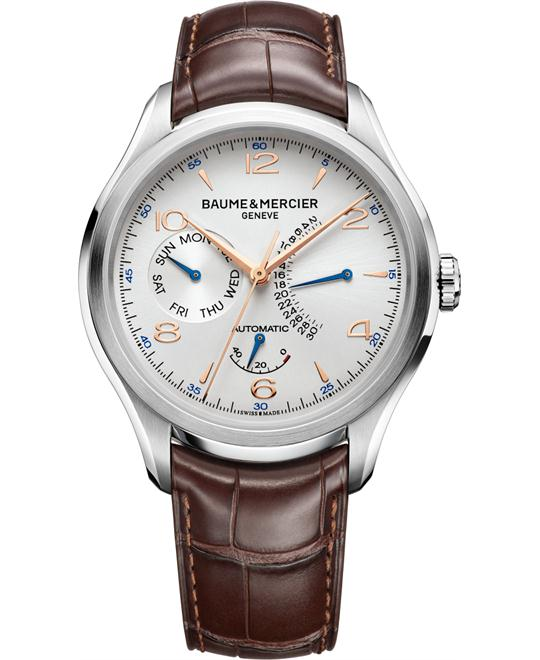 Baume & Mercier Clifton Brown Mens Watch, 43mm