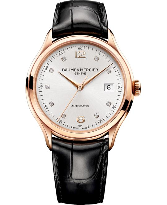Baume & Mercier Clifton iamond Watch 38.8mm