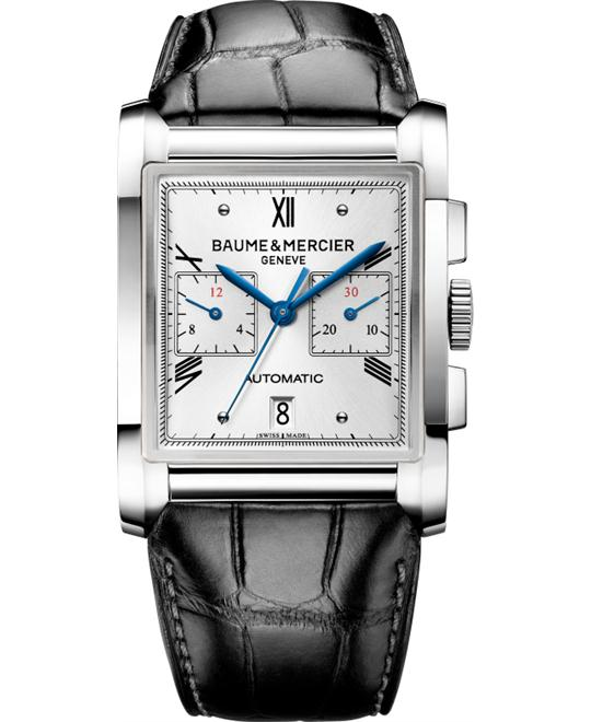 Baume & Mercier Hampton Mens Watch, 46.8mm x 34.0mm
