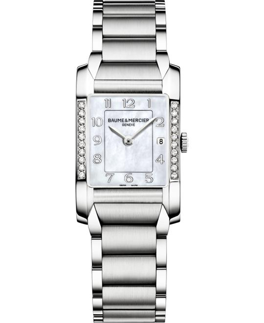 Baume & Mercier Hampton Rectangular , 34.5 mm x 22.0 mm