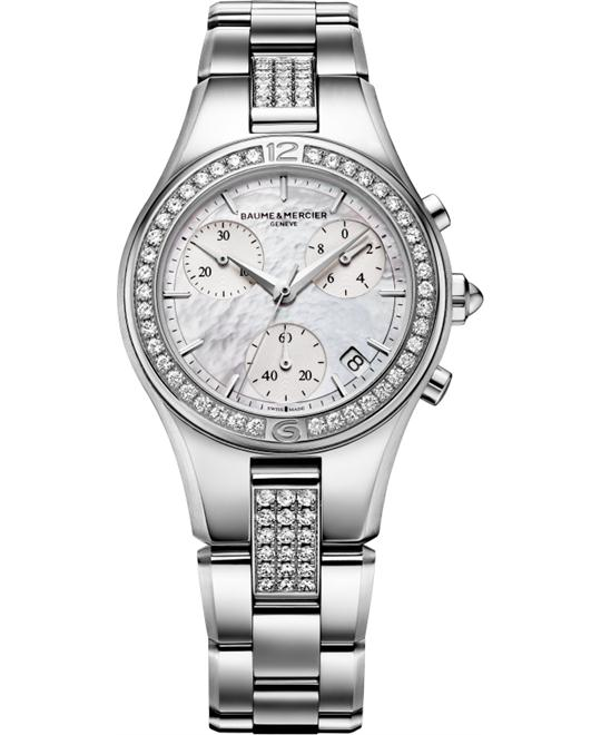 Baume & Mercier Women's Linea Diamond Watch, 32mm