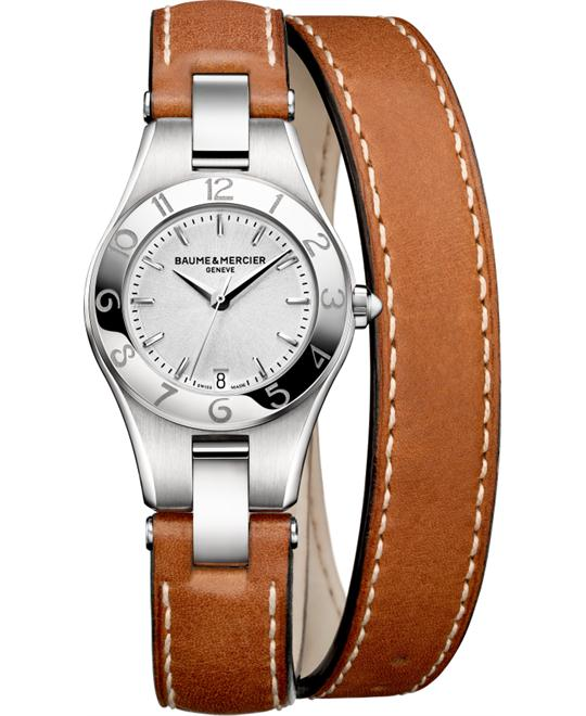 Baume & Mercier Linea Silver Watch 27mm