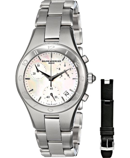 Baume and Mercier Linea Chronograph Watch 32mm
