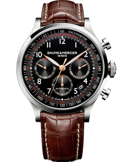 Baume and Mercier CAPELAND Chronograph Watch 44mm