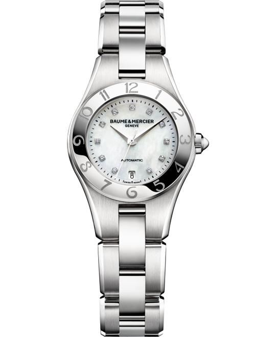 Baume and Mercier Diamond Dial Watch, 27mm