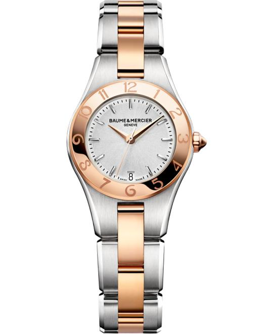 Baume and Mercier Linea Rose Gold Watch 27mm