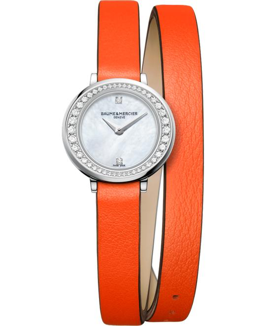 BAUME AND MERCIER PROMESSE WATCH 22MM