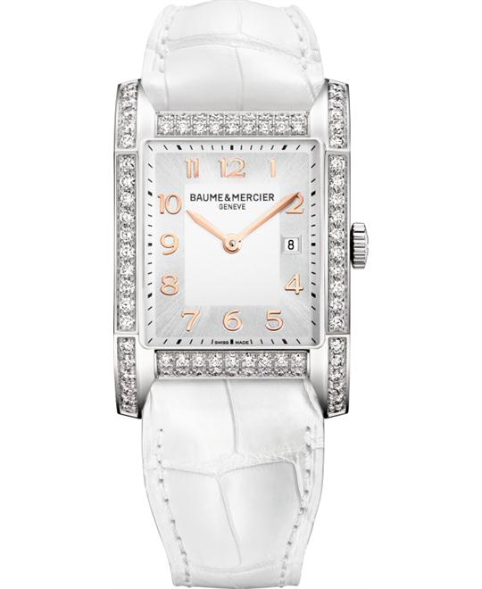 Baume et Mecier Hampton Diamond Watch 40 x 27.1 mm