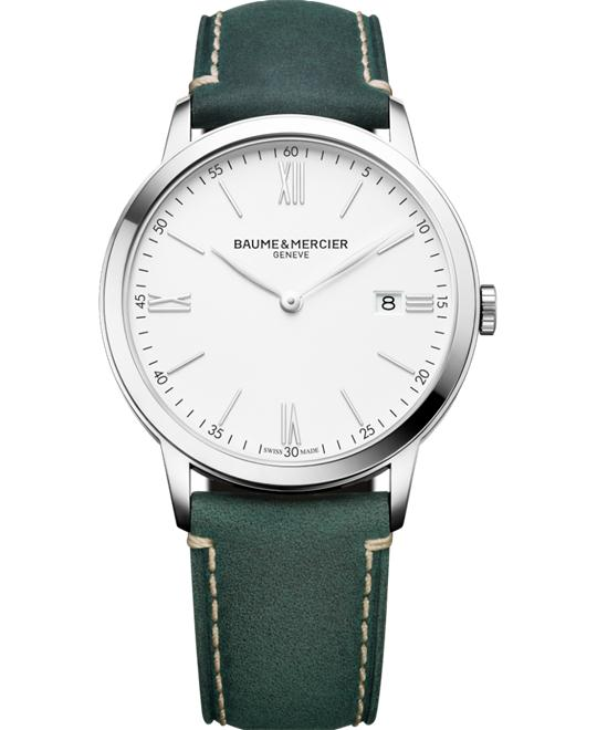 BAUME ET MERCIER Classima Green Watch 40mm
