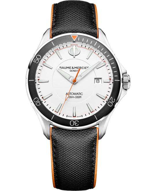 BAUME ET MERCIER CLIFTON AUTOMATIC WATCH 42MM