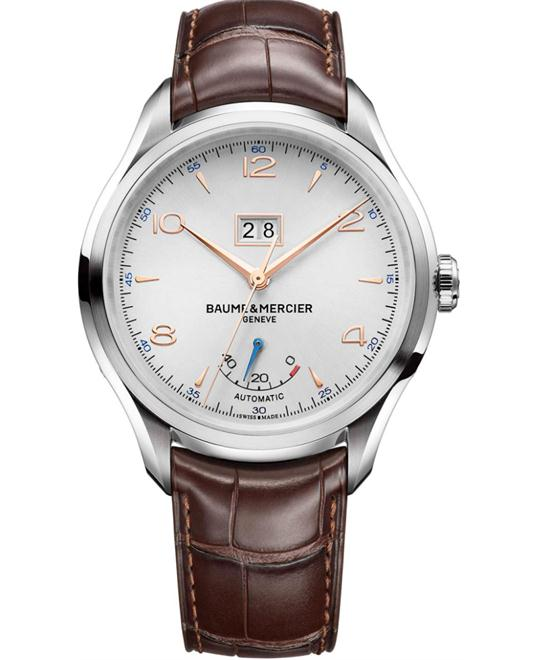 BAUME ET MERCIER CLIFTON AUTOMATIC WATCH 43MM