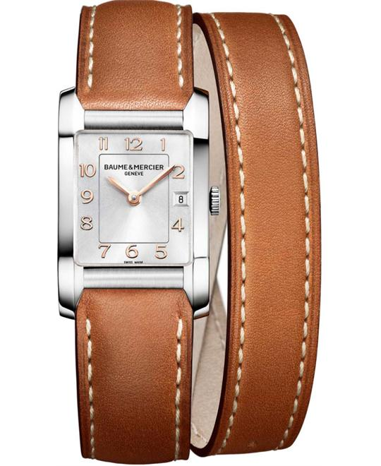 BAUME ET MERCIER HAMPTON WATCH 34.5X22MM