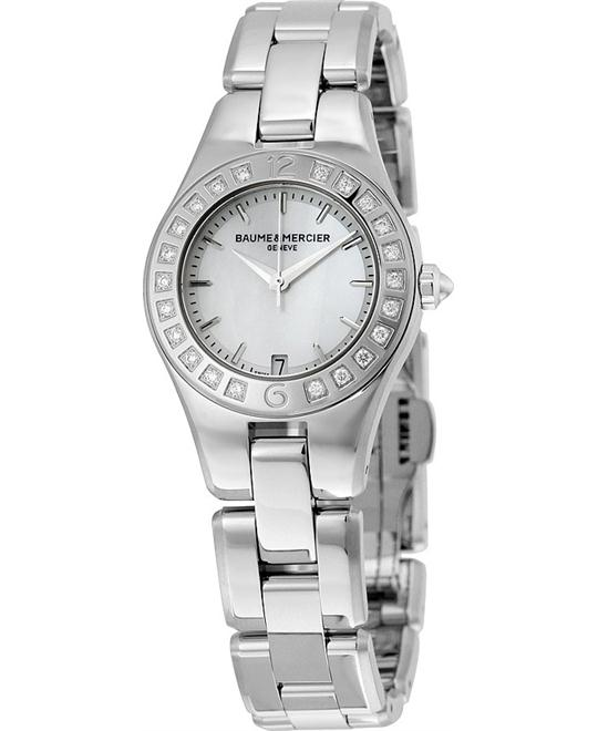 BAUME ET MERCIER Linea Diamond Ladies Watch 27mm