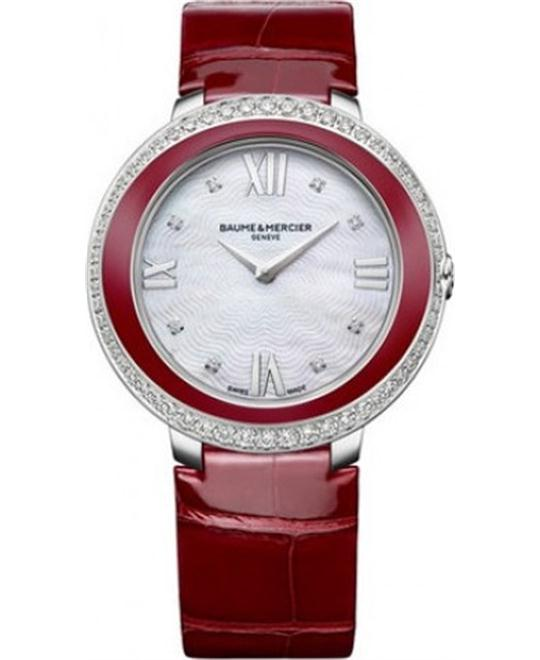 BAUME ET MERCIER Promesse Ladies Watch 34.4mm