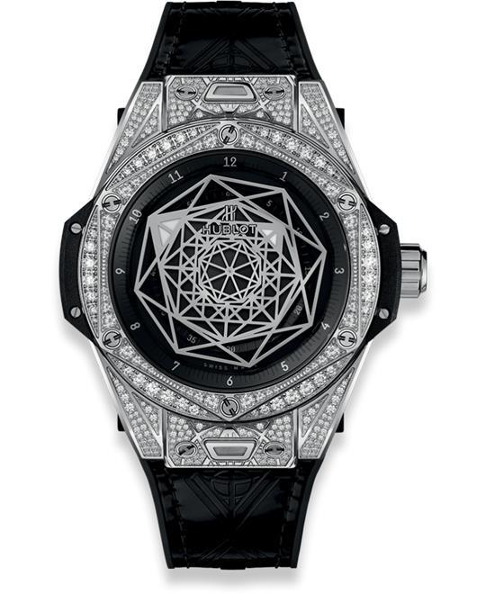 đồng hồ BIG BANG 465.SS.1117.VR.1704.MXM18 SANG BLEU PAVÉ 39