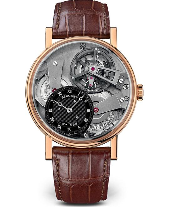BREGUET Tradition 7047BR/G9/9ZU Tourbillon Watch 41mm