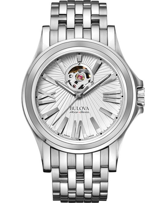 Bulova Accu Swiss Kirkwood Automatic Watch 40mm