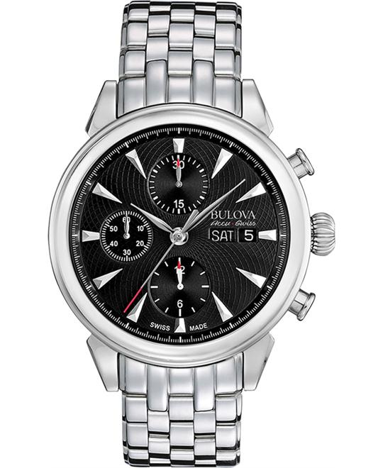 Bulova AccuSwiss Gemini Automatic Watch 42mm