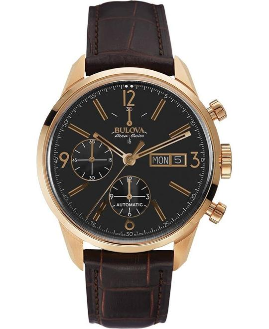 Bulova AccuSwiss Men's Automatic Chronograph 41mm