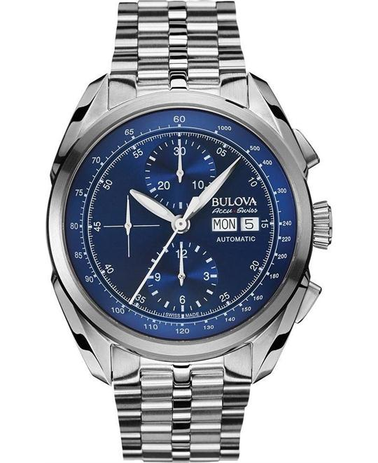 Bulova AccuSwiss Men's Automatic Chronograph 43mm