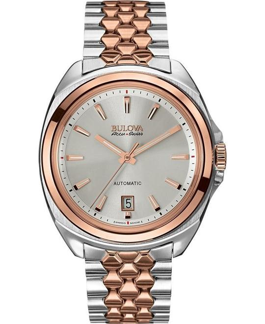 Bulova AccuSwiss Men's Automatic Sapphire 43mm
