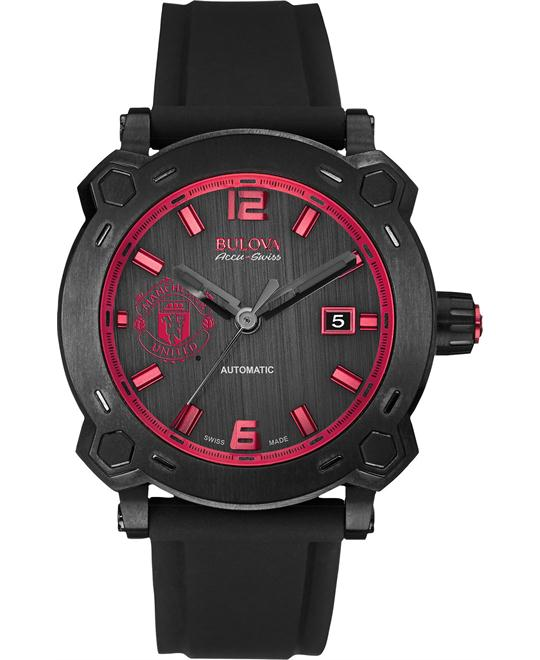 Bulova AccuSwiss Percheron  Manchester United Treble  43mm