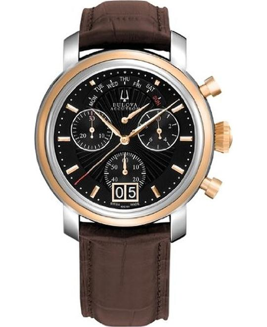 BULOVA ACCUTRON AMERIGO CHRONOGRAPH WATCH 43.5MM