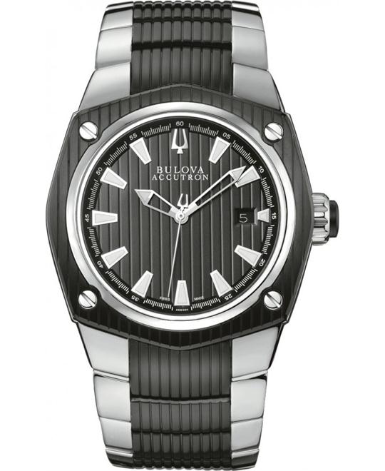 Bulova Accutron Corvara Automatic Watch 42mm