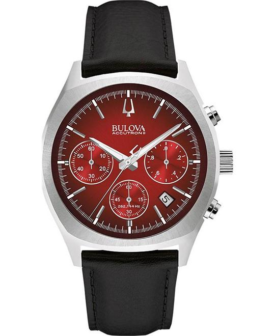 Bulova Accutron II Surveyor Chronograph Watch 41mm