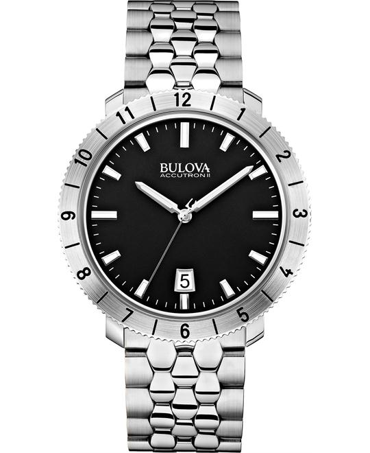 Bulova Accutron II Moonview Watch 42mm