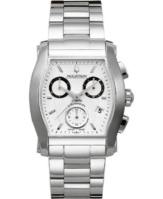 Bulova Accutron Oxford Chronograph Watch 37mm