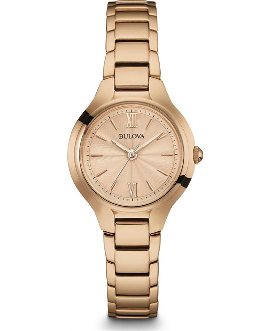 Bulova Classic Women's Rose Gold Watch 28mm