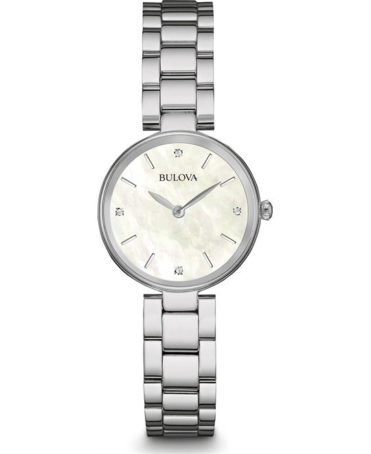 Bulova Diamond Accent  Watch 27mm