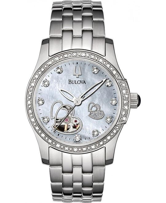 Bulova Diamond Automatic Women's Watch 33mm