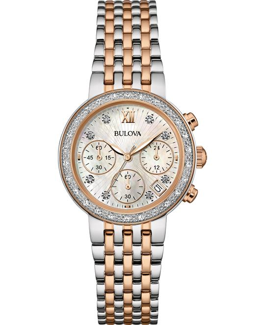Bulova Diamond Collection Women's Watch 30mm