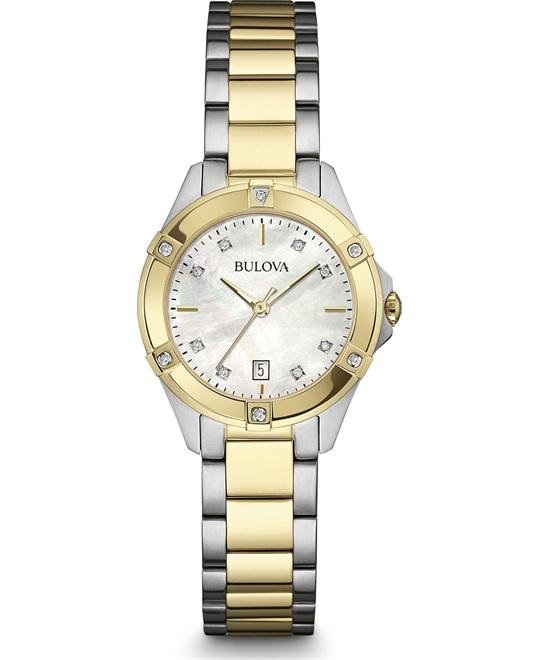 Bulova Diamond Ladies Watch 27mm