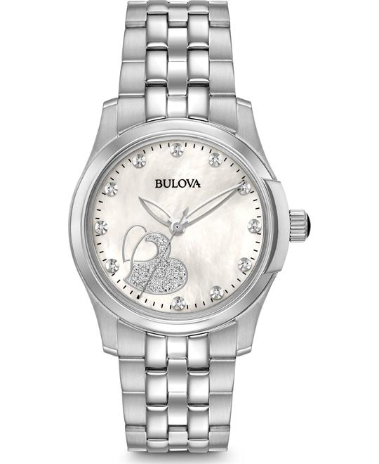 đồng hồ  Bulova Diamond Watch 33mm