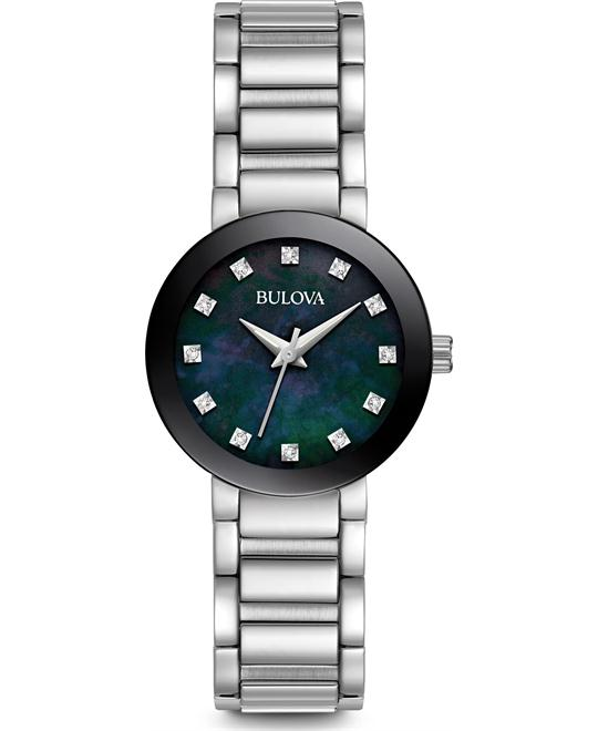 Bulova Diamond Women's Quartz Watch 26mm